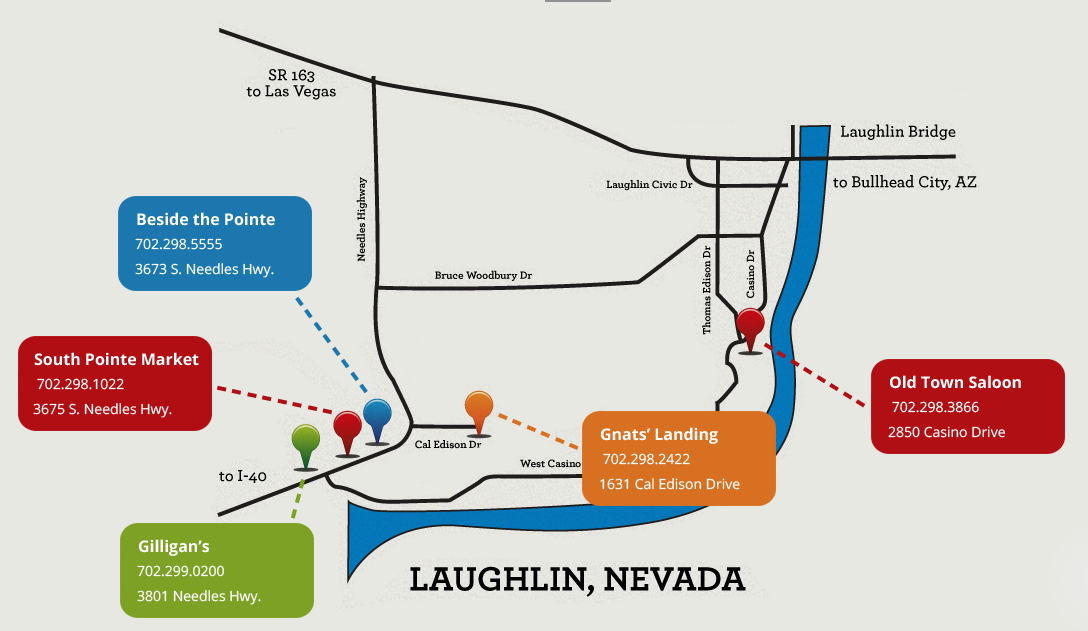 Laughlinlocals S In Laughlin Map on