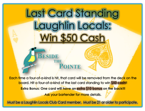 BESIDE THE POINTE LAST CARD STANDING